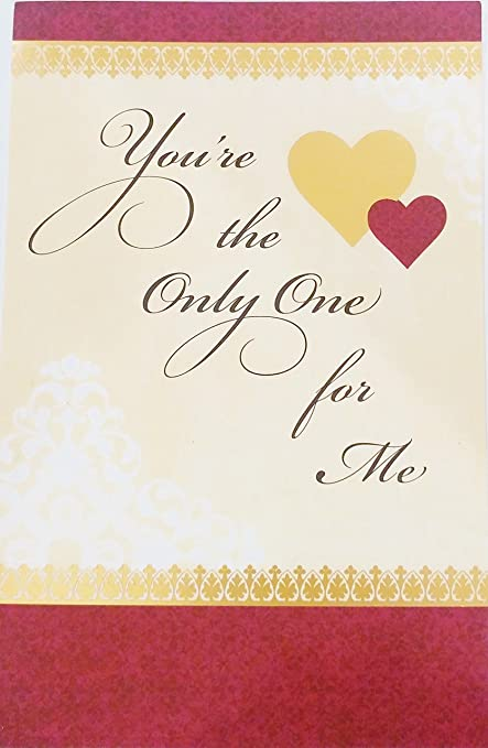 Amazon youre the only one for me happy valentines day quotyoure the only one for mequot happy valentines day honey m4hsunfo
