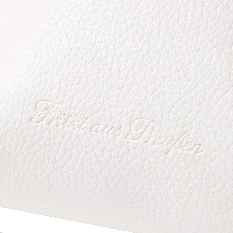 Fritzi av förkrympt dam Gini axelväska, 12 x 39 x 31,5 cm Vit (vit)