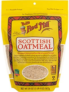 product image for Bob's Red Mill Organic Scottish Oatmeal, 20 oz, 2 pk