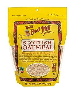 Bob's Red Mill Scottish Oatmeal, 20 oz, 2 pk
