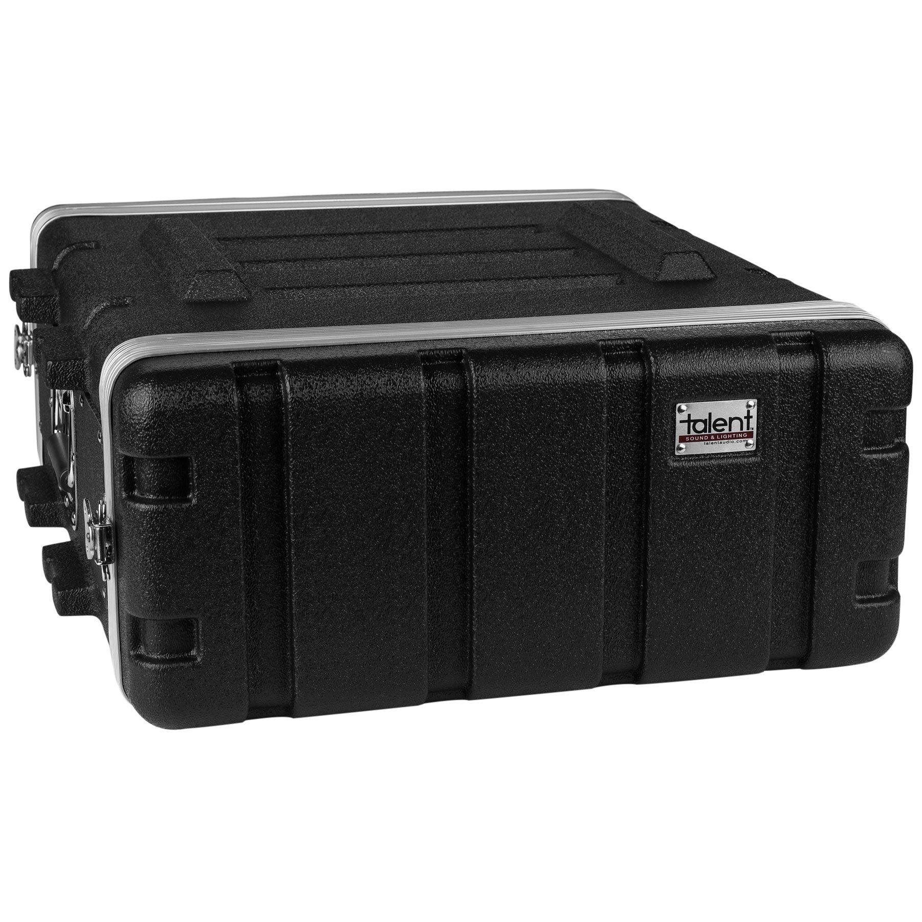 Talent RC4U19 ABS Rack Case 4U 19'' Depth