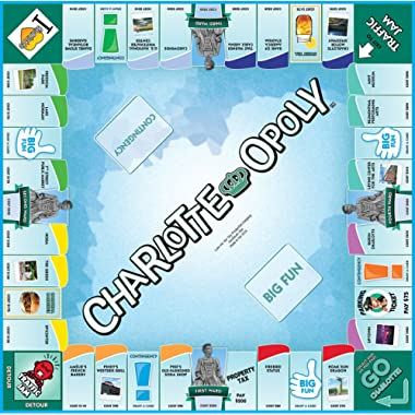 Charlotte-Opoly Limited Edition The QUEEN City's Original Monopoly Game