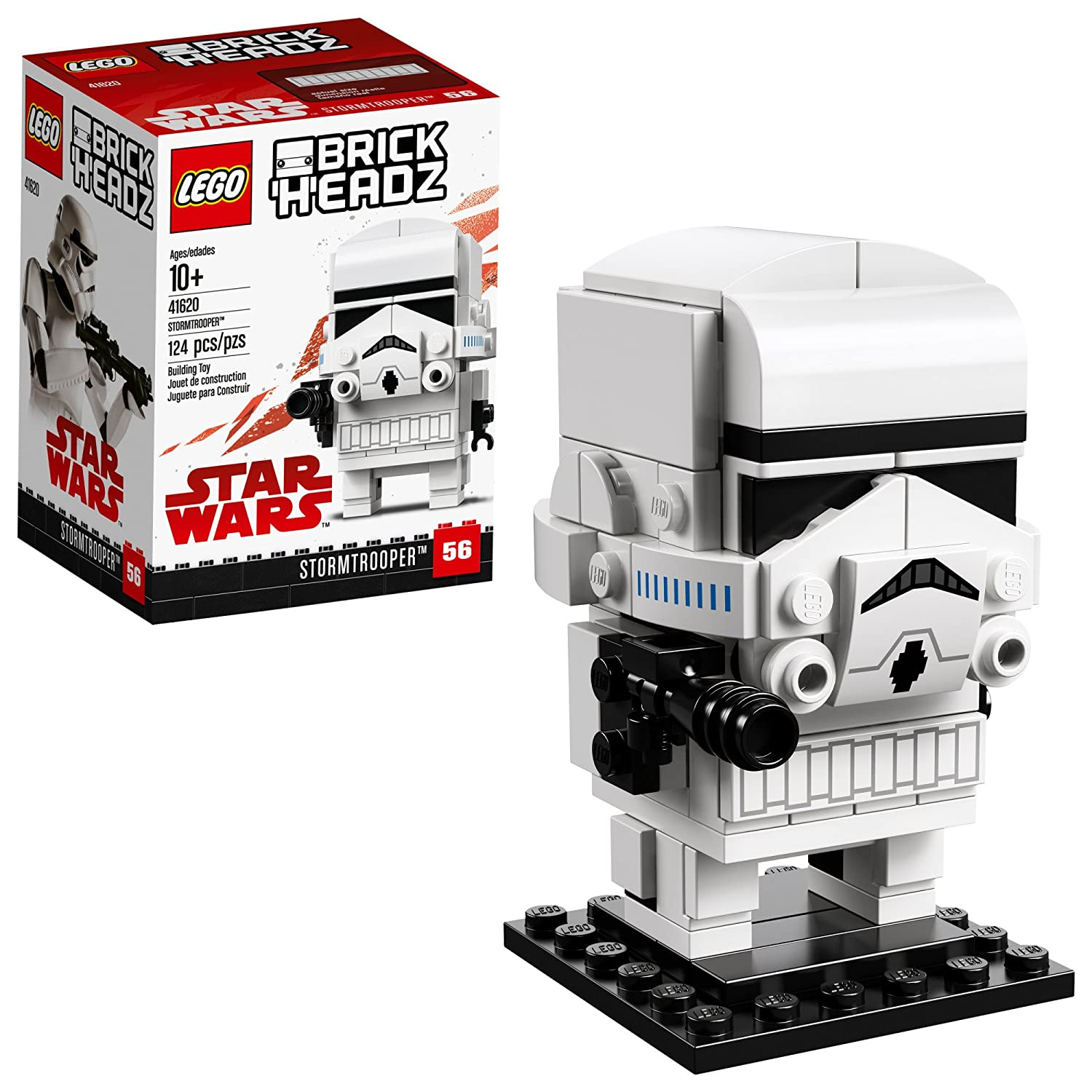 LEGO BrickHeadz Stormtrooper Building Kit (124 Piece), Multicolor 6225366