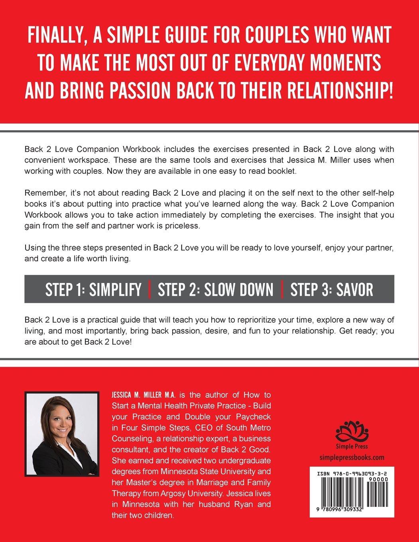 Back 2 Love Companion Workbook: Jessica M. Miller: 9780996309332 ...