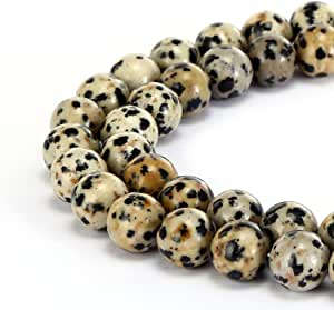 Natural Dalmatian Jasper Gemstone Fancy Stylist Rondelle Big Hole Loose Beads 1 Pcs 14X8 MM 5 MM hole
