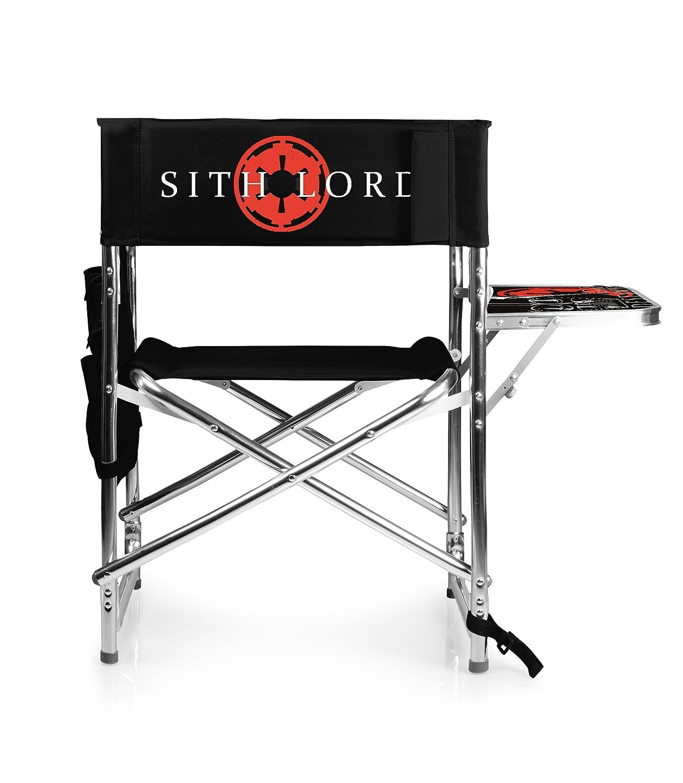 Picnic Time Lucas/Star Wars Darth Vader Tragbarer, faltbarer Sports Chair, schwarz