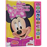 Disney Minnie Mouse - I'm Ready to Read with Minnie Sound Book - PI Kids (Play-A-Sound)