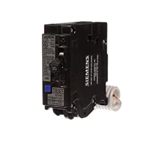 Siemens QA120AFCP 20-Amp Single Pole 120-volt Plug-On Combination AFCI Breaker