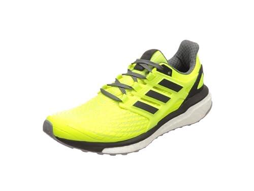 adidas Energy Boost M, Zapatillas de Running para Hombre, Amarillo (Amasol/Negbas/Gricua), 44 EU: Amazon.es: Zapatos y complementos