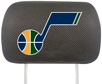 Amazon Com Fanmats Nba Utah Jazz Polyester Head Rest Cover Automotive