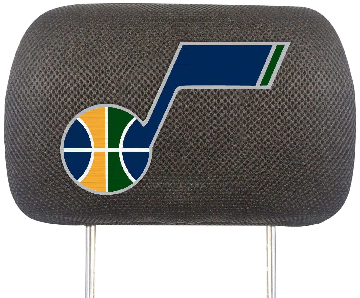Fanmats NBA Utah Jazz Polyester Head Rest Cover