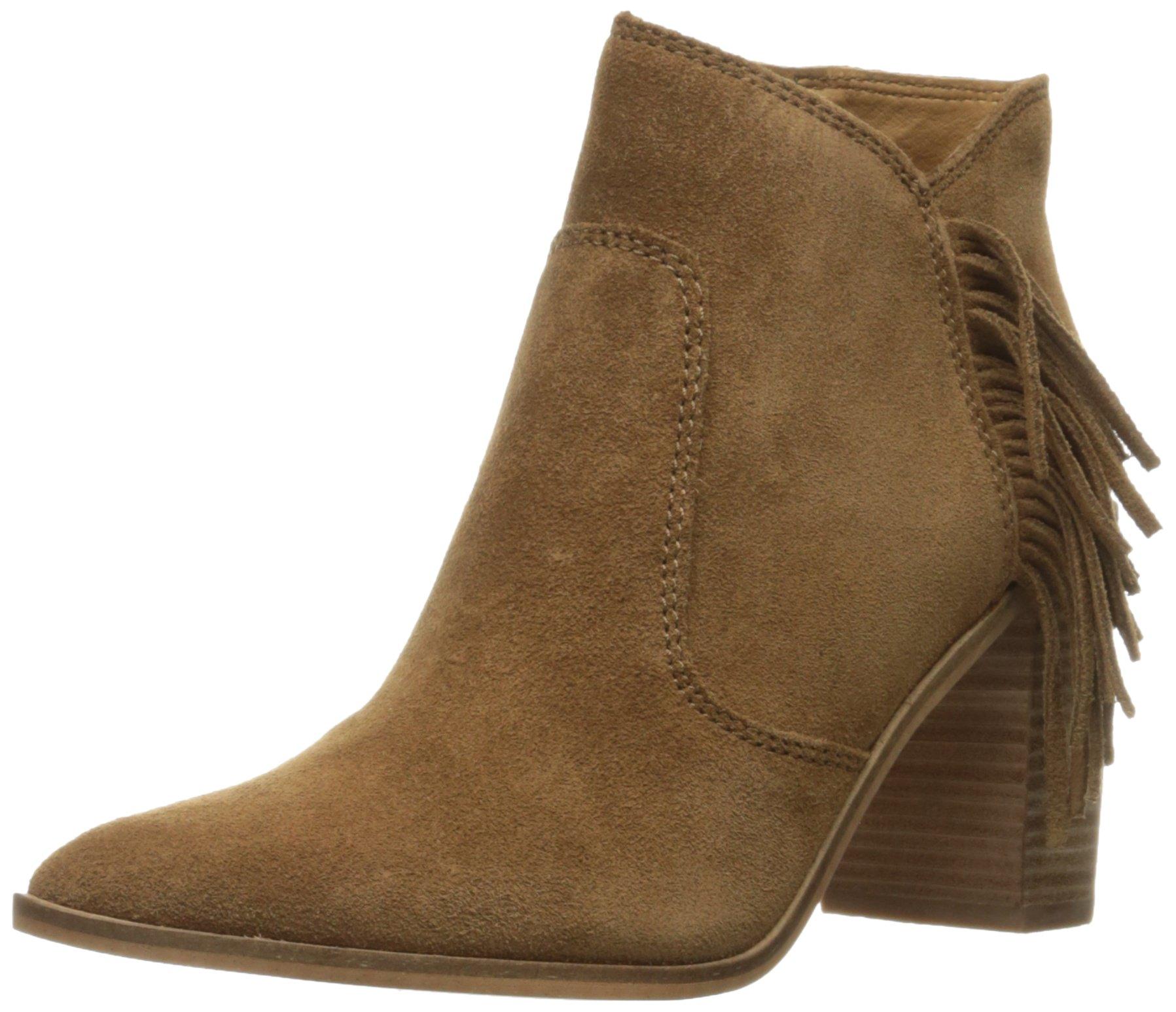 Lucky Brand Women's Mercerr Boot, Honey, 8.5 M US