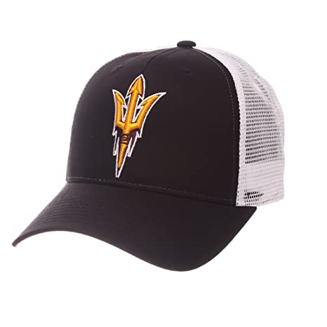 buy popular 99142 31bc8 Amazon.com   Zephyr Arizona State Sun Devils Official NCAA Big Rig  Adjustable Hat Cap by 599822   Sports   Outdoors