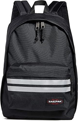 Eastpak Men s Out Of Office Reflective Backpack, Reflective Black, One Size