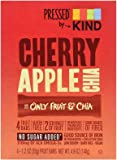 KIND Pressed by Bars - Cherry Apple Chia, 1.2 Oz, 4 Ct, 5.92 Ounce