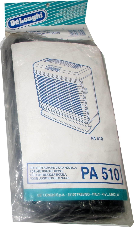 DeLonghi – 2 filtro de carbón activo en negro para purificador de ...