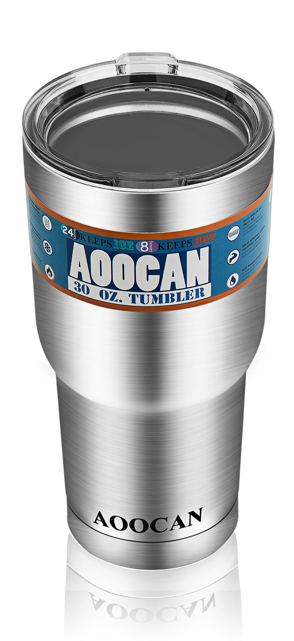 Aoocan Coolers Tumblers 30 Oz Vacuum Insulated Double Wall