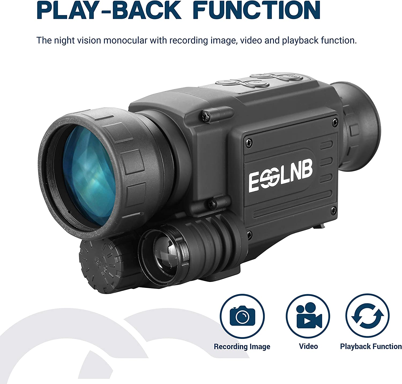 Esslnb Nachtsichtgerät Für Jagd Militär 4 5x40 Digital Kamera