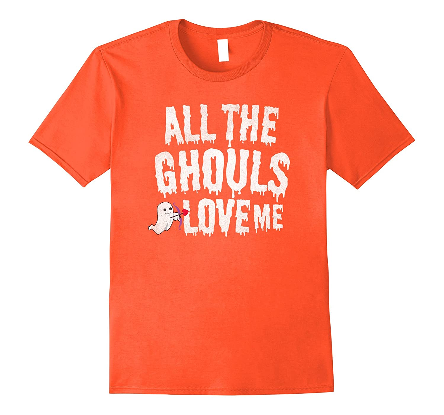 All the Ghouls Love Me, cute, funny boys Halloween t-shirt.-T-Shirt