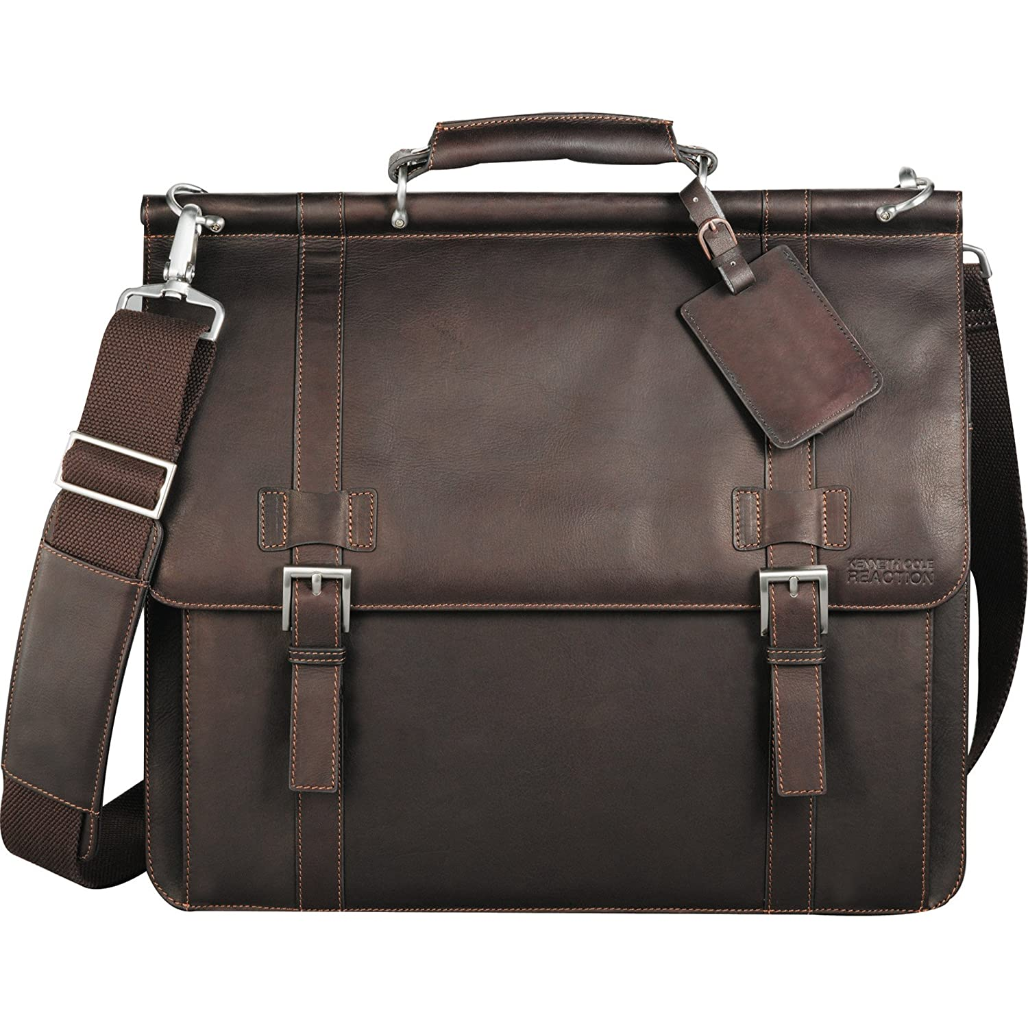 Kenneth Cole ® ColombianレザーDowelロッド15.6