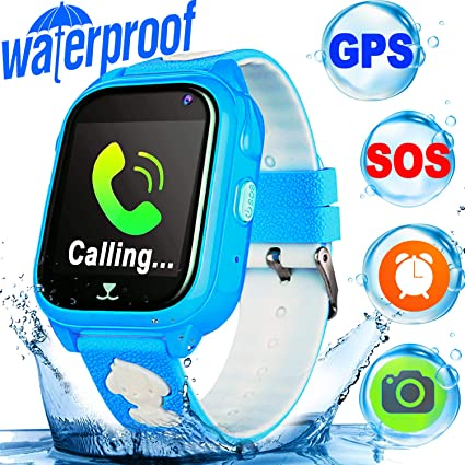 Amazon.com: Smart Watch for Kids GPS Tracker - IP68 ...