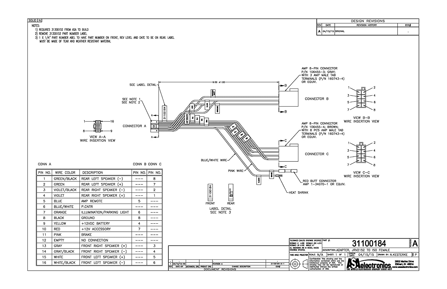 81MePH4yfSL._SL1500_ jensen wiring harness diagram dolgular com jensen msr3007 wiring harness at gsmx.co
