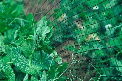 Ranknetz Rankhilfe 1,5m x 2m für Kletterplanzen Mehrjährig UV-stabil Kletternetz