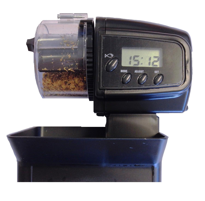 aquatics glass station for eheim feeder feeding automatic auto