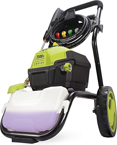 Sun Joe SPX4500 2500 PSI MAX 1.48 GPM High Performance Motor Electric Pressure Washer