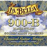 La Bella 900B Golden Superior/Black Nylon+Polished Golden Alloy