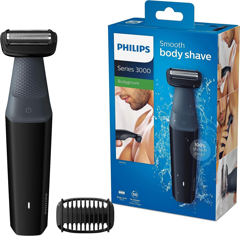 Afeitadora corporal philips serie 3000
