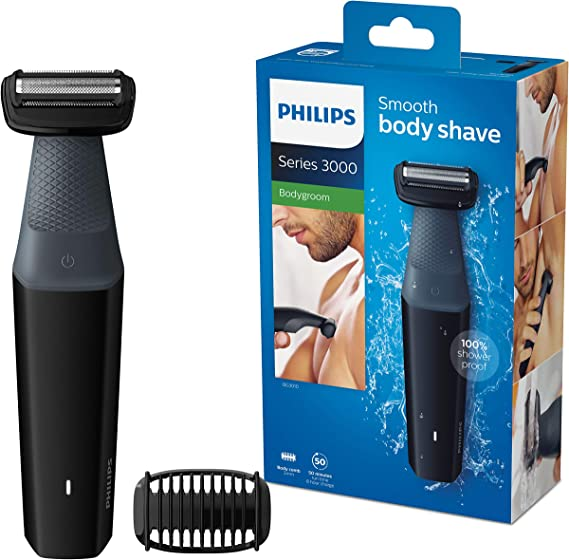 Philips BG3010/15 Serie 3000 - Afeitadora Corporal Apta para la Ducha con 1 Peines-Guia, 50 min de Uso: Philips: Amazon.es: Salud y cuidado personal