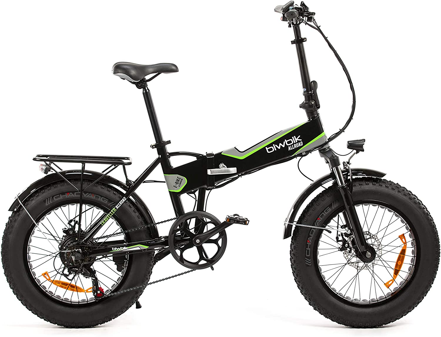 Bicicleta ELECTRICA Plegable Mod. Traveller (All Road Negro ...