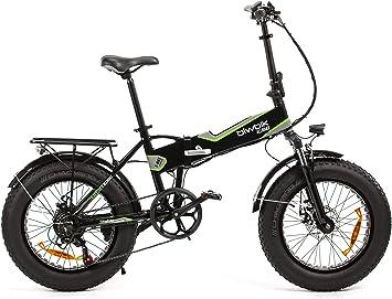 Bicicleta ELECTRICA Plegable Mod. Traveller (All Road Negro ...