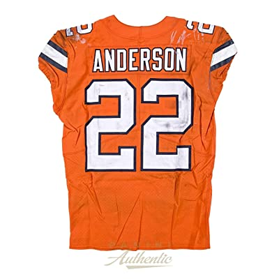 check out f60bc 87e14 CJ Anderson Game Worn Denver Broncos Jersey & Pant Set From ...