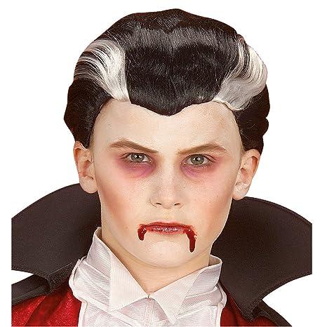 WIDMANN 6278V - Parrucca da Vampiro in Taglia Unica Bambino  Amazon ... f0bc0cc561d5