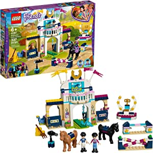 LEGO Friends Stephanie's Horse Jumping 41367 Building Kit (337 Pieces)