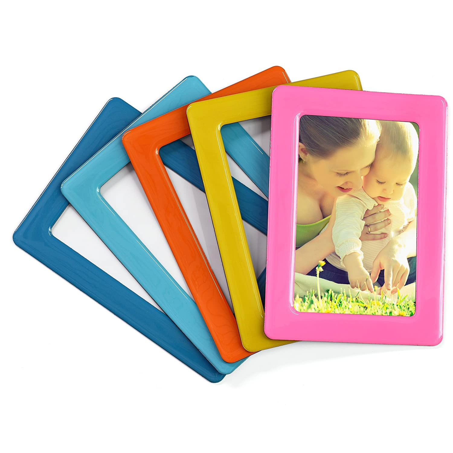 Merkapa Magnetic Photo Picture Frames and Refrigerator Magnets ...