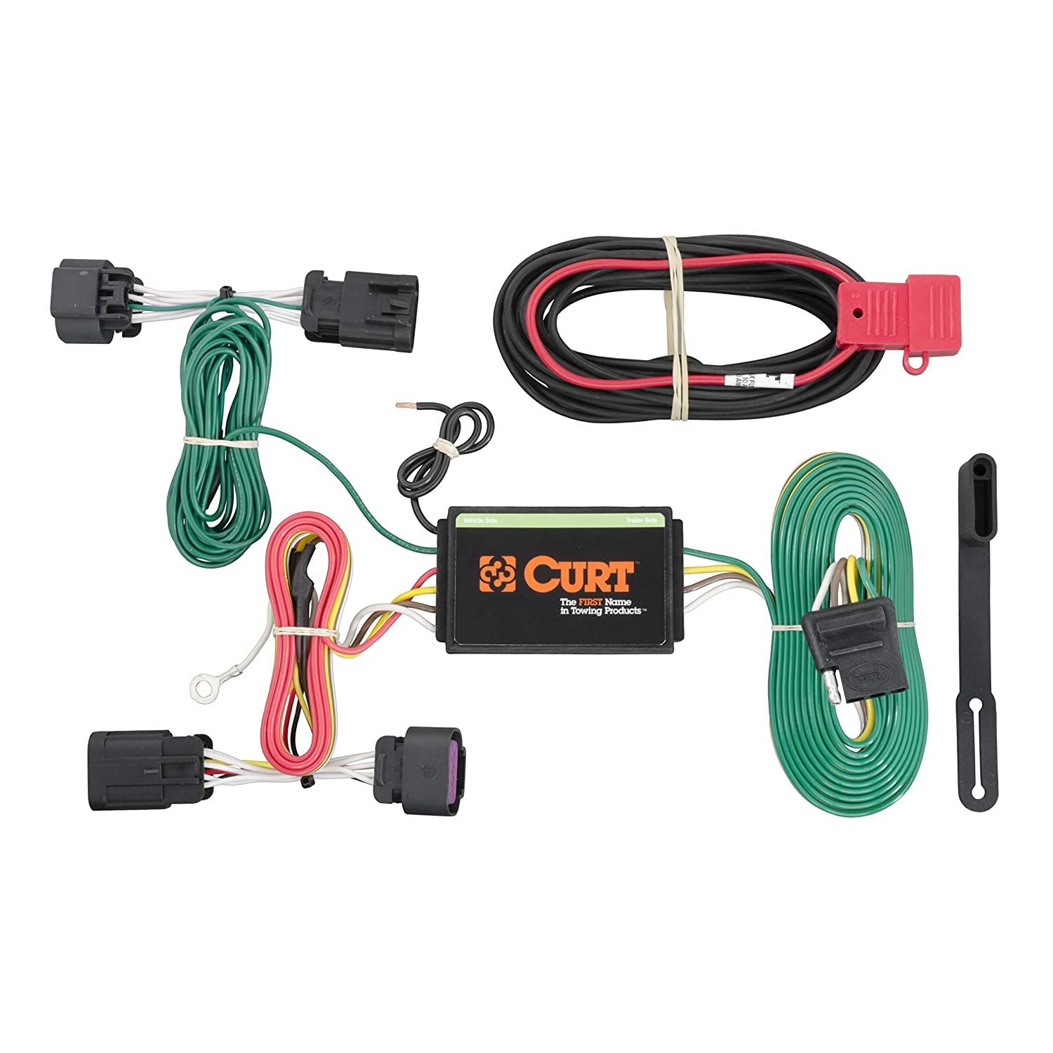 Curt Wiring Products Also With Curt T Connector Vehicle Wiring ... on t connector for trailer lights, t connector fuel line, t connector hose, t connector battery, t one wiring harness, t connector electrical, 1998 ford f-150 tow harness,