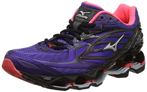 8b9e37b953fb Mizuno Women's Wave Prophecy 6 Nova (W) Running Shoes, Purple (Liberty/