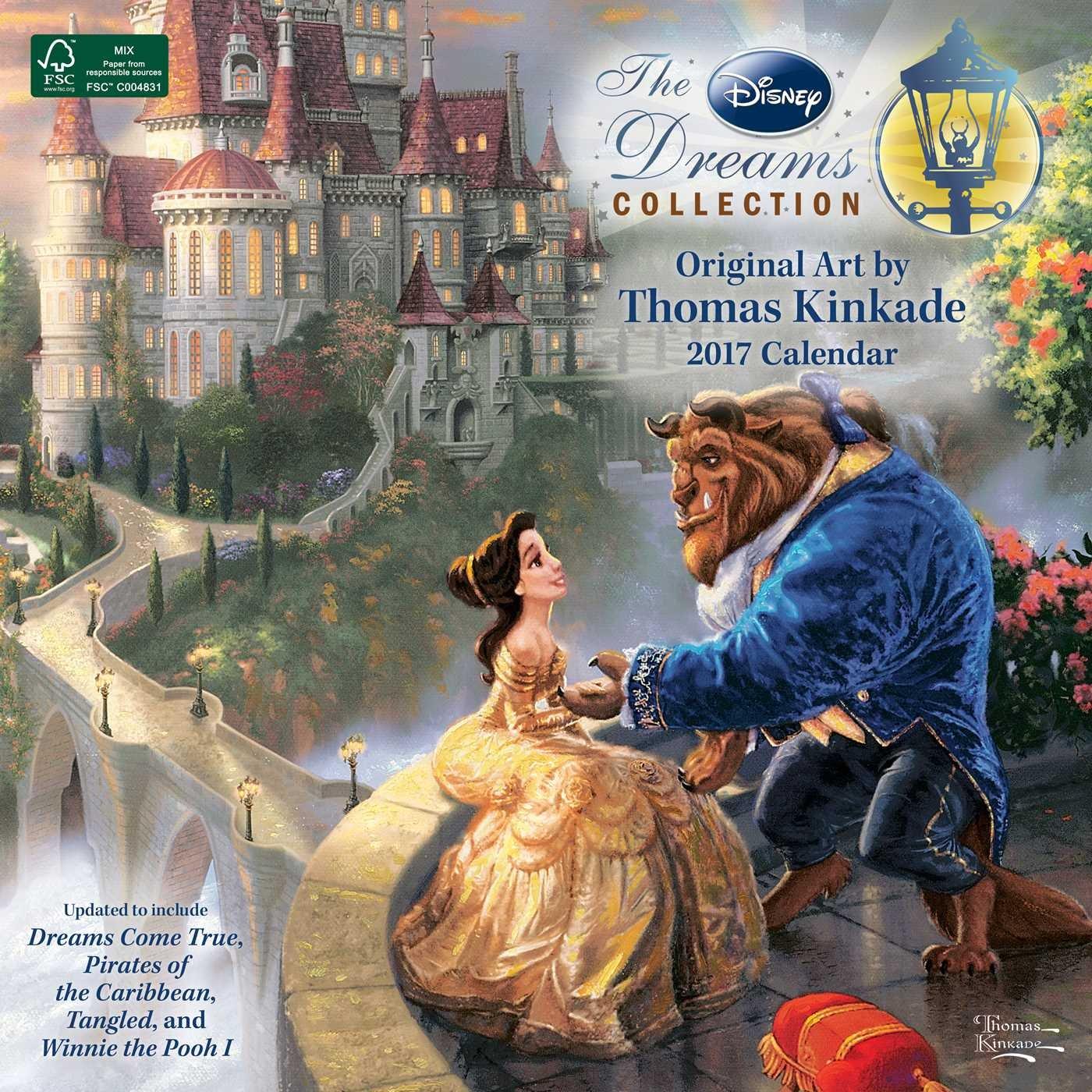 Thomas Kinkade Disney Collection Calendar