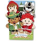 Melissa & Doug Fairy Tale Friends Hand Puppets - The Original (Set of 4, Little Red Riding Hood, Wolf, Grandmother…