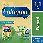 Leche de Crecimiento en Polvo para Niños mayores de 3 años Enfagrow Premium Etapa 4 Caja de 1,100 gramos