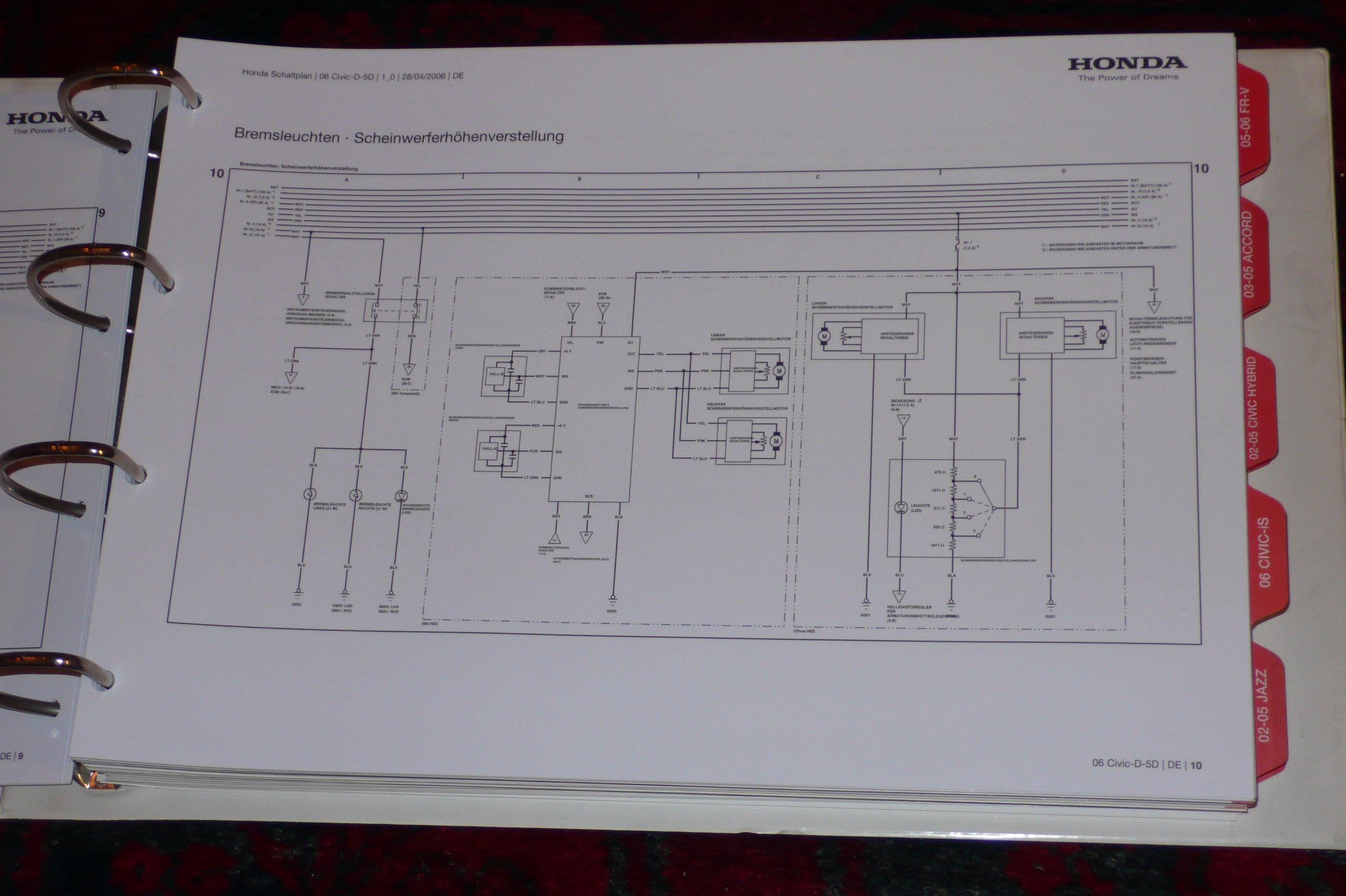 Niedlich Honda Stereo Schaltplan Zeitgenössisch - Elektrische ...