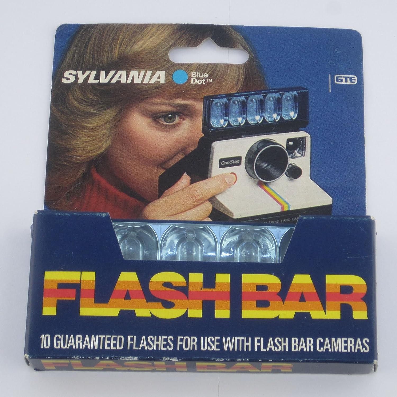 Sylvania Blue Dot Flashbar For Polaroid Sx70 Land Amazoncouk