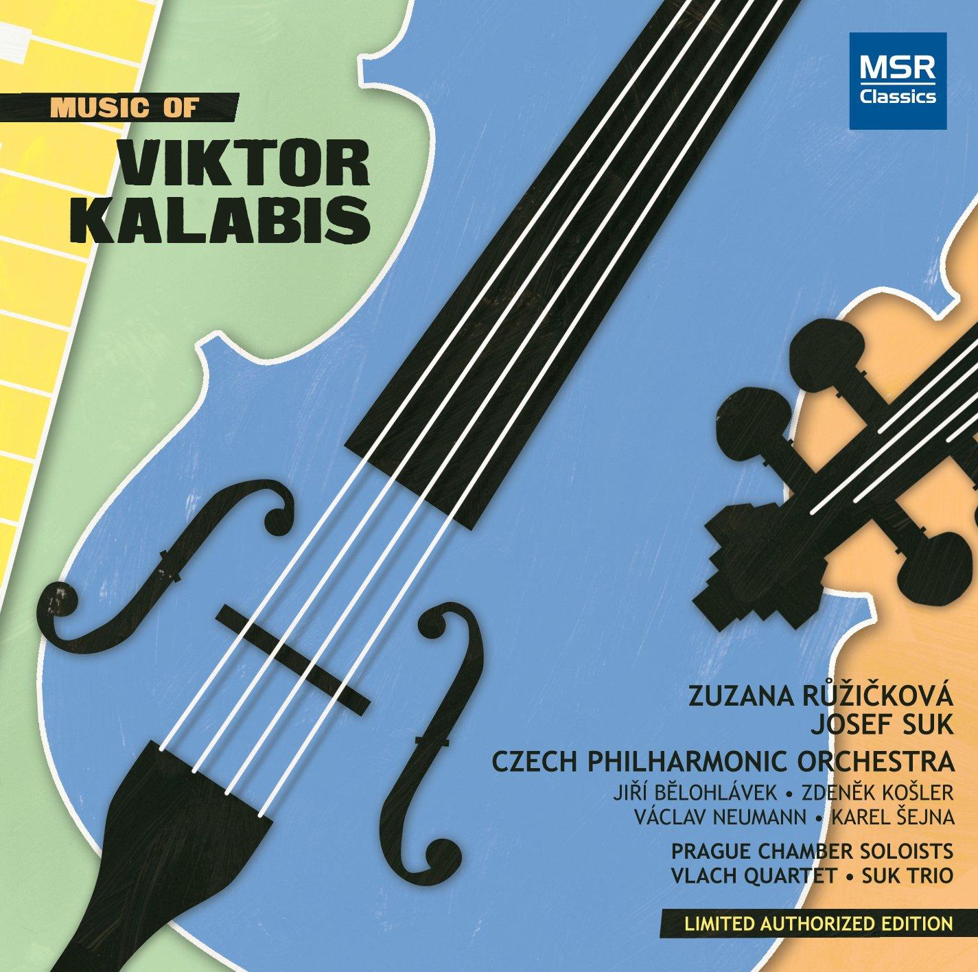 Super sale Music of Viktor Be super welcome Kalabis Piano No.1 No.4 Sy Concerto Symphony