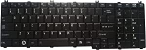 Notebook Keyboard for Toshiba Satellite C650 C655 C660 C665 C670 C675 L650 L655 L660 L665 L670 L675 L750 L755 L770 L775 US Layout Black Keypad