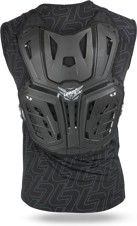 Leatt Protektorweste Body Vest 4 5 Schwarz Bekleidung