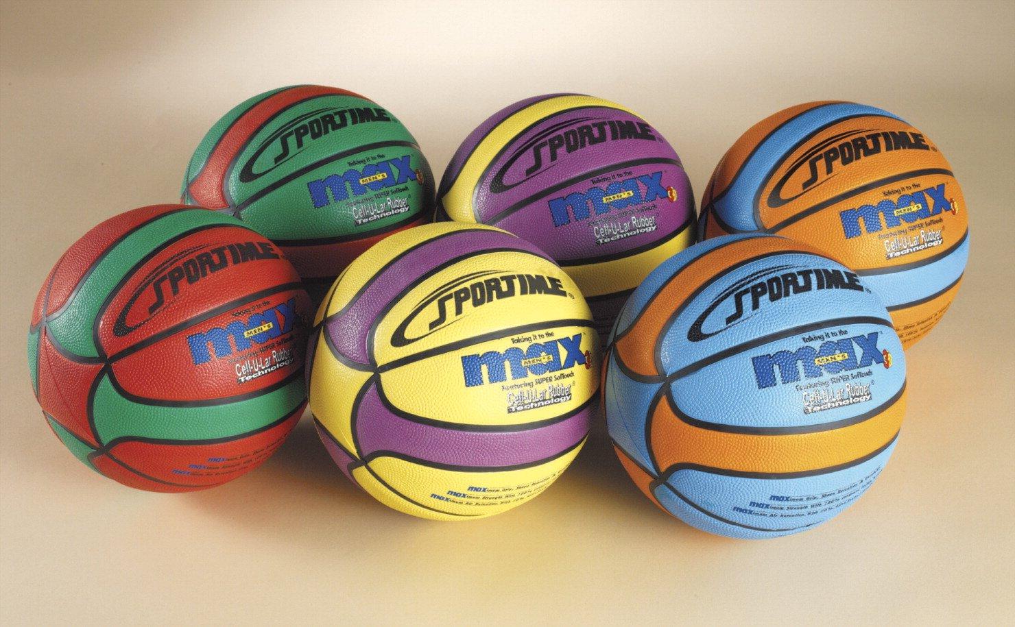 SportimeMax Junior 27-1 2 in Star Basketballs, Set of 6