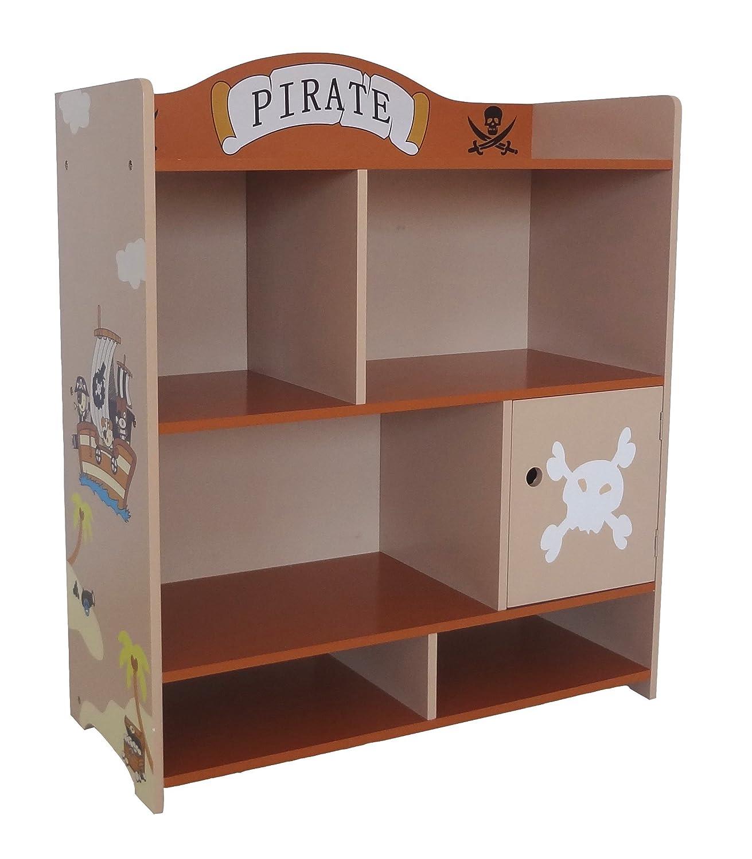 Bebe Style Childrenu0027s Pirate Wooden Storage Unit (Large): Amazon.co.uk: Baby